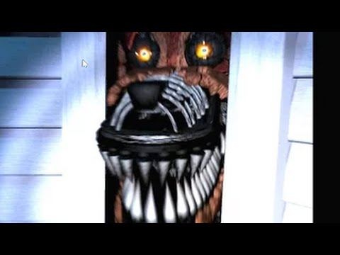 Night Four - Five Nights at Freddy's 4: My, what sharp teeth you have (3/4)